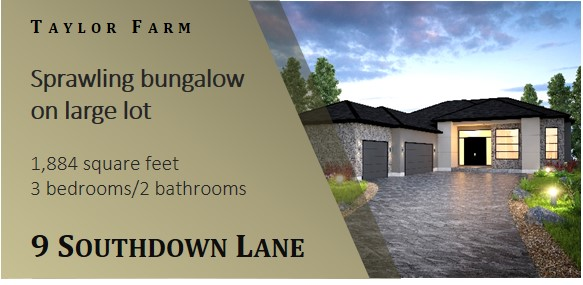 Show home on Southdown Lane in Taylor Farm Headingley